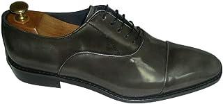 Arte hecho a mano Buttero grande y alto zapatos para hombre cuero Oxford encaje hasta Brogue redondeado dedo del pie vesti...