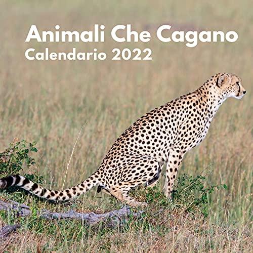 Animali Che Cagano Calendario 2022: amanti degli animali   calendario divertente 2022  ...