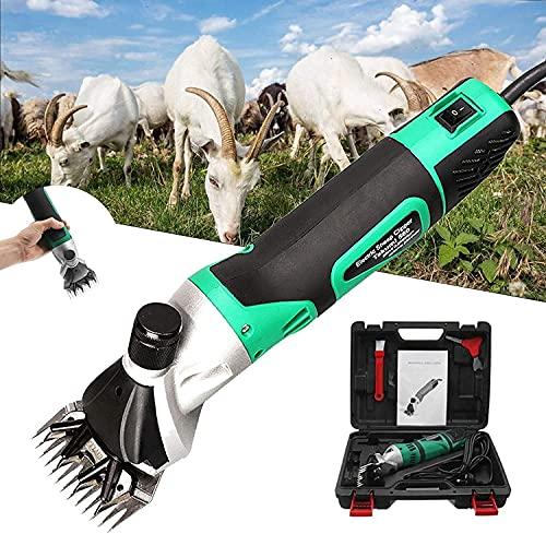 CFLDSG Cizallas de ovejas, Tijeras eléctricas de Cabra, cortadoras de Pelo eléctrico...