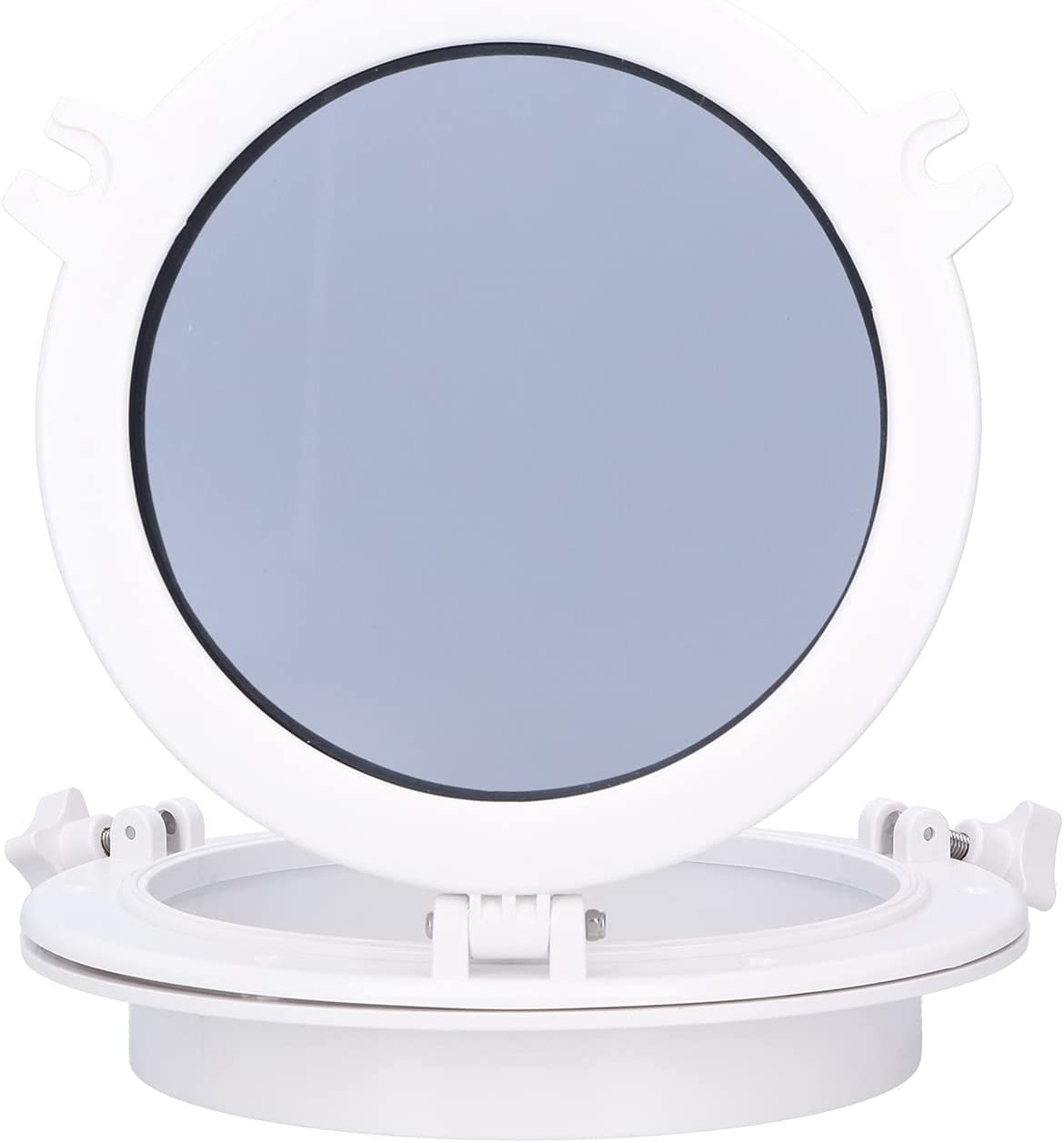 Fydun White Round Portlight Tempered Y Window Glass Opening Max Popular overseas 46% OFF Boat