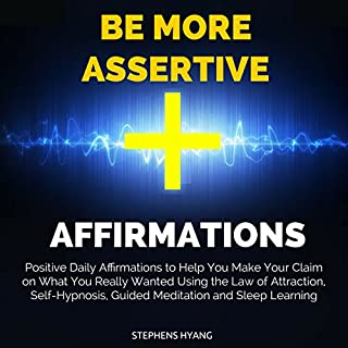 Be More Assertive Affirmations audiobook cover art