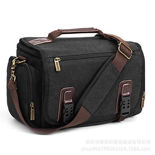 HOSD Bolso de cámara Digital con fotografía SLR de un Solo Hombro colgado Bolsa de cámara SLR