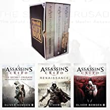 Assassin's Creed Book Collection 3 Books Bundle Gift Wrapped Box Set Specially for you (The Secret Crusade,Brotherhood,Ren...