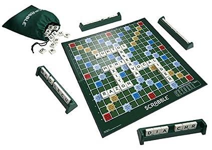 Mattel Games Scrabble original, juegos de mesa para adultos y niños a partir de 10 años (Mattel Y9594)