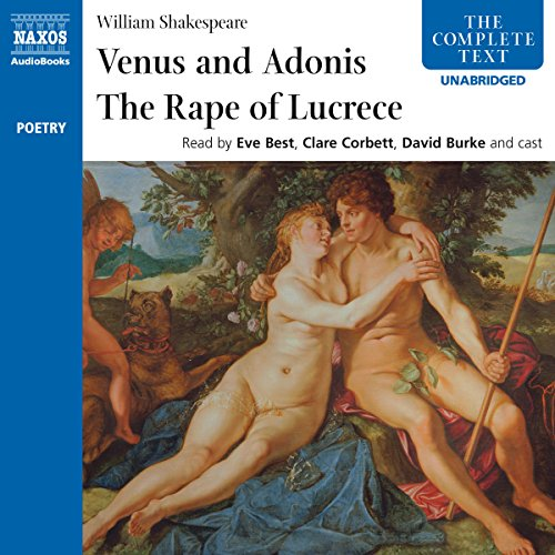 'Venus and Adonis' and 'The Rape of Lucrece'  By  cover art