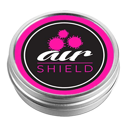 Air Shield | Purifying Essential Oil Blend to Fight Viruses, Bacteria and Unpleasant Odours | Unique Slow Release Diffusing Technology – no Liquids – no Spraying | Ideal for Home, Office Or Travel