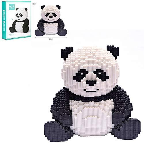 11.4Inch High 7800 + PCS Super Lindo Gigante Panda Super Hero Series Boutique Decoración 3D Bloque De Construcción DIY Montaje De Building Block Block Juguetes Niños Y Niñas Regalos De Cumpleaños
