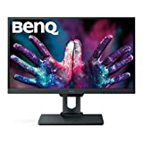 BenQ PD2500Q Monitor per Designer 25 Pollici QHD, 2560 x 1440 QHD, CAD/CAM, Darkroom Mode, Low Blue Light, Flicker-Free, Grigio