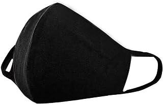 Kit com 04 Máscaras De Rosto Reutilizável Em Tecido C/Forro
