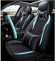 カーシートカバー防水PUレザー、5シートホンダアコード、シビックと互換性フルセット調節可能取り外し可能な自動車シートクッション、シビックSiの (Color : B)