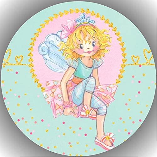 Fondant Tortenaufleger Tortenbild Geburtstag Prinzessin Lillifee T5