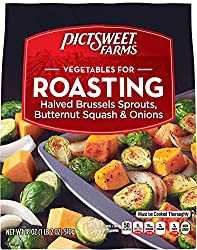 Pictsweet Farms Vegetables for Roasting, Brussels Sprouts, Butternut Squash, and Onions, 18 oz (froz