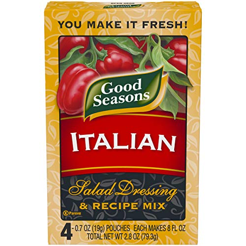 Good Seasons Italian Dry Salad Dressing and Recipe Mix, 4 ct - Packets