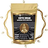 Medicinal Foods Coffee Break Healthy Energy Drink: Caffeine-Free Coffee Substitute, Loaded w/ Superfoods, such as Chaga, Reishi, and Maca, Non-Acidic, Non-GMO, All-Natural, Organic, Gluten-Free (6oz)