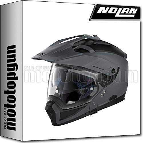 NOLAN CASCO MOTO CROSSOVER N70-2 X CLASSIC FLAT VULCAN GRIGIO 002 TG. XS