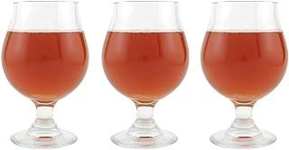 Libbey Belgian Beer Glass - 16 oz, Set of 3