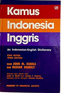Read Kamus Indonesia Inggris An Indonesian English Dictionary | 5AJ