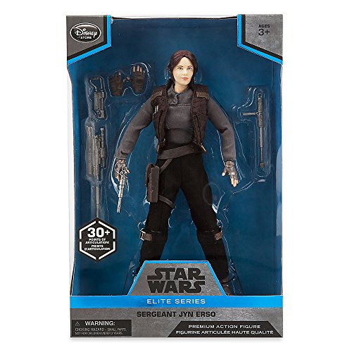 Star Wars Elite Series Jyn Erso Premium Action Figure - 10 Inch
