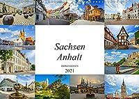 Sachsen Anhalt Impressionen (Wandkalender 2021 DIN A3 quer): Eine einmalig wunderschoene Bilderreise durch Sachsen Anhalt (Monatskalender, 14 Seiten )