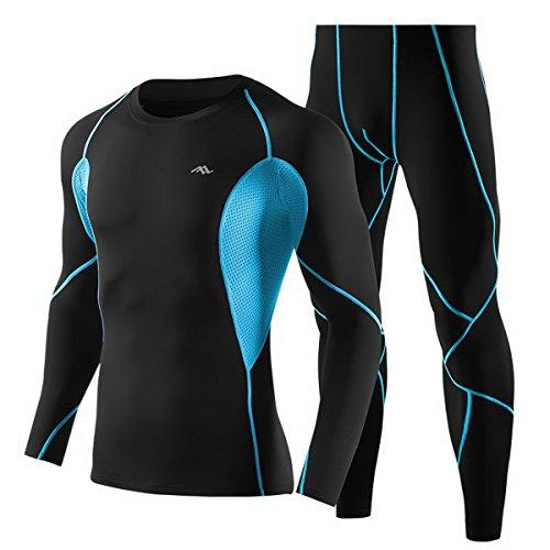 trysil–Leotardos Leggings de compresión Ejercicio Base Layer alta elásticos Camisetas