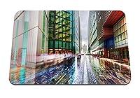 26cmx21cm マウスパッド (ロンドンイングランドシティビルディング) パターンカスタムの マウスパッド