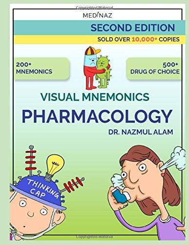 VISUAL MNEMONICS PHARMACOLOGY 2nd EDITION (Medical mnemonic)
