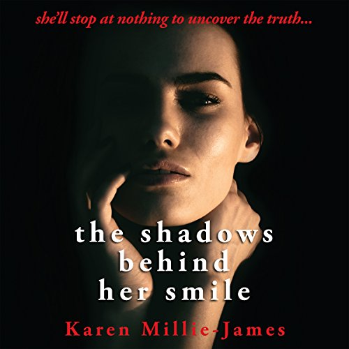The Shadows Behind Her Smile audiobook cover art