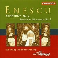 Symphony No. 2 / Romanian Rhapsody, No. 2 by G. Enescu (2013-05-03)