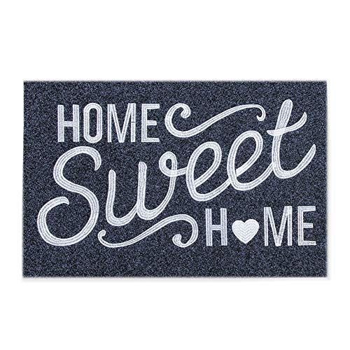 Welcome Door Mat Outdoor Indoor with Non Slip Rubber Backing Home Sweet Home Ultra Absorb Mud Easy Clean Front Entrance Heavy Duty Doormat
