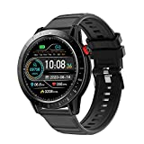 Smart Watch for Men and Women,CKG Fitness Watch for Android and iOS Phones with Continous Heart Rate Monitor, Activity Tracker with 3ATM Waterproof,1.3' Touch Screen Compatible iPhone Samsung