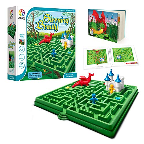 SmartGames Sleeping Beauty Board Game, A Preschool Puzzle Game & Brain Game for Kids, Cognitive Skill-Building Challenges, Ages 3-7.