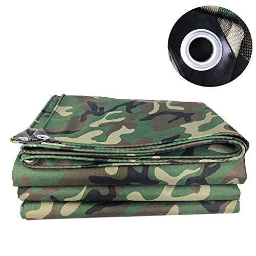 JY&WIN Plane waterdichte tarps camouflage met oogjes | High performance dekking voor Patio Camping Tent Vlinderdas verflaag overkapping (grootte: 6x7m) 3 x 3 m.