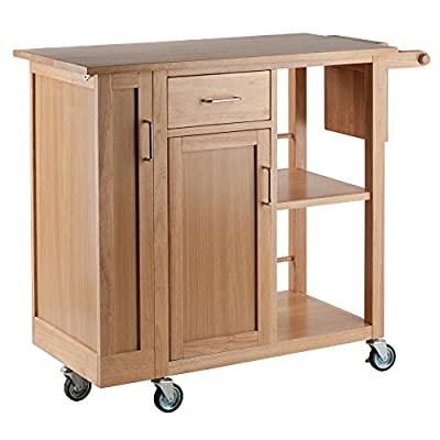 Winsome Douglas Cart Kitchen, Natural from Winsome Wood