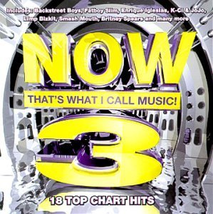 Now That\'s What I Call Music! 3 by Various Artists and Now That\'s What I Call Music (Series) (1999) by Smash Mouth, Blink 182, Garbage, Britney Spears, Lenny Kravitz, Backstreet Boys, (1999) Audio CD