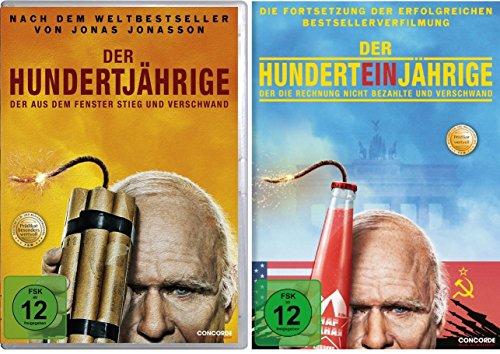 Der Hundertjährige … / Der Hunderteinjährige … im Set - Deutsche Originalware [2 DVDs]