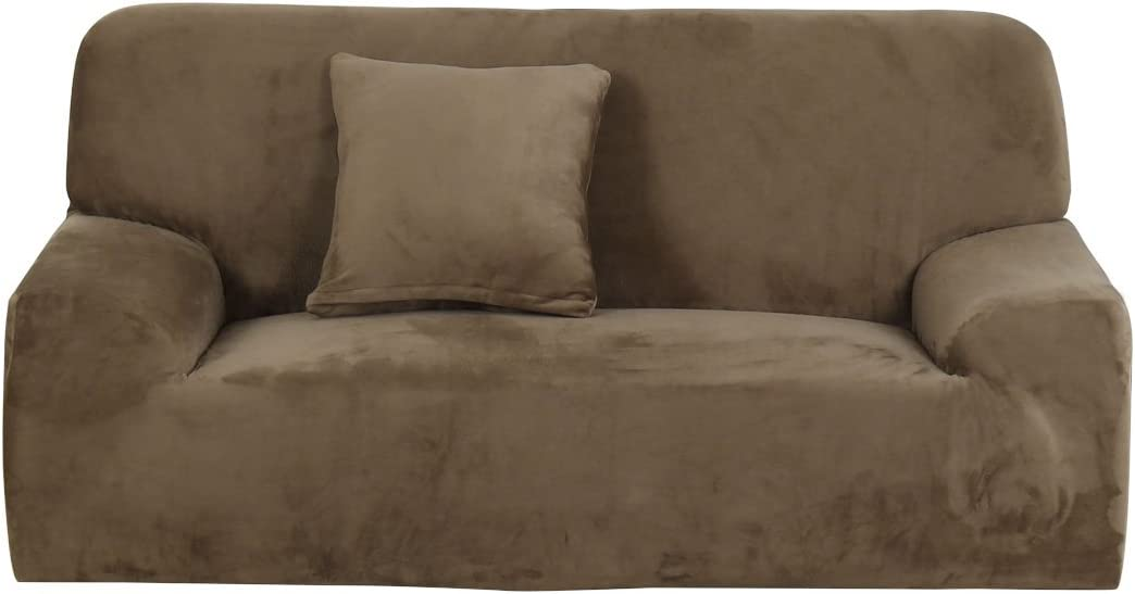 uxcell Velvet Plush Stretch Sofa Direct sale of Some reservation manufacturer Couch Slipcover Thicker Cover