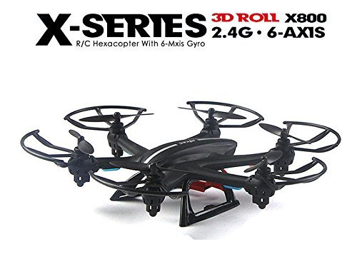 MJX X800 2.4G RC Drone Hexacopter 6 Axis Gyro UAV 3D Roll Auto Return Headless Helicopter W/C4005 WiFi FPV Camera