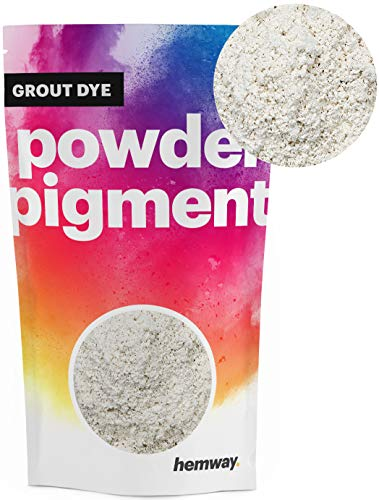 Hemway Grout Dye Pigment Beton Kleur Poeder Render Mortel wijzen Poedervormige Baksteen Toner 100g Metallic Krijt Wit