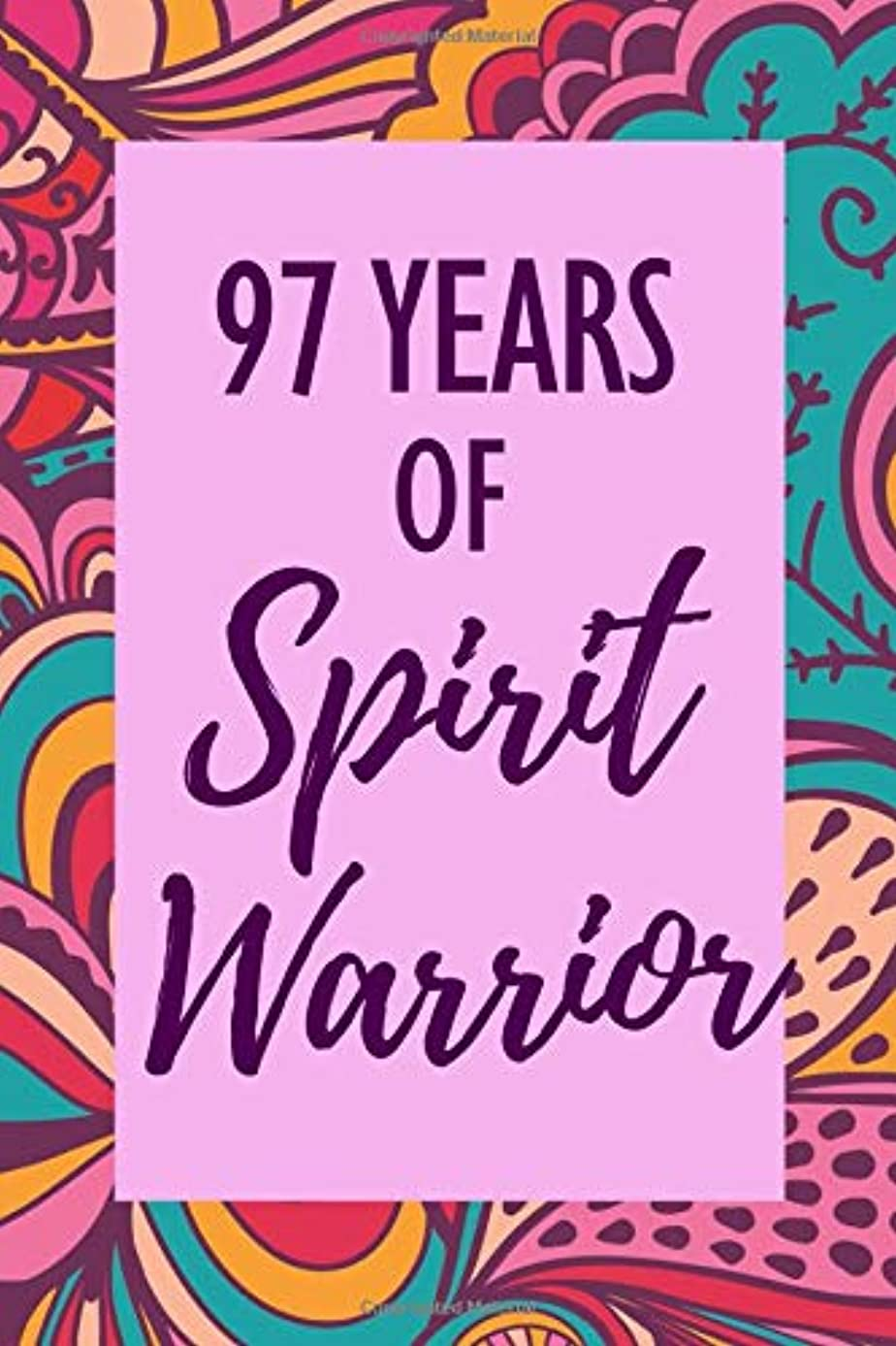 97 Years of Spirit Warrior: 97th Birthday - Anti Anxiety Journal - Guided Notebook Diary - Wellness & Confidence for Girls, Teens & Women - To Write In with Prompts