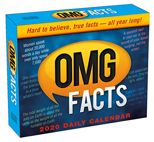 OMG Facts 2020 Day-To-Day Boxed Calendar