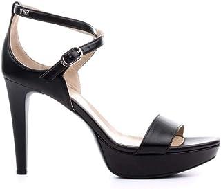 alta calidad negro Giardini P908470DE Sandalias con con con Tacon Mujer 35  estar en gran demanda