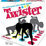 TWISTER GAME CHALLENGES KIDS: The Twister game challenges players to put their hands and feet at different places on the mat without falling over ICONIC TWISTER GAMEPLAY: Remember playing the Twister game when you were a kid Featuring classic Twister...