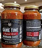 Game Time Marinara Sauce 25oz Created by Athletes for Athletes! 100% Vegan! 2 Super Foods! 45 Calories! Turmeric + Black Pepper! One-of-a-kind Marinara