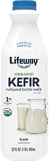 Lifeway, Kefir Plain Low-Fat Organic, 32 Fl Oz