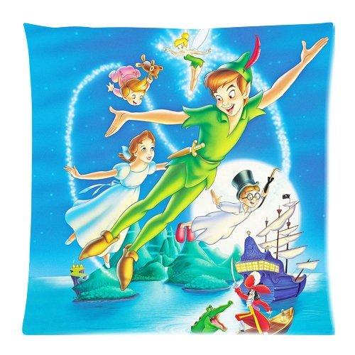 were Peter and Wendy Peter Pan Disney Custom Zippered Pillow Cases Fundas para Almohada 20x20Inch(50cmx50cm)