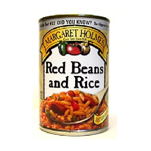 Margaret Holmes Southern Style Red Bean & Rice (Pack of 3) 15 oz Cans