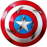 Getrichar Captain America Scudo 58cm ABS Palmare Film Edition Accessori Supereroe Costume Accessori Scudo
