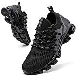 Casual Men Fashion mesh Breathable Tennis Shoes Trail Running Shoe for Men Black Men Sport Shoes comfrotable Mens Runners Stylish Sneakers Size 12 Plus Size