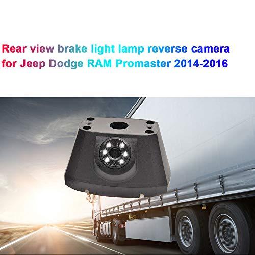 Dynavsal Transporter Van HD Caméra de Voiture Vision Nocturne IR Grand Angle de 150-170 degrés Imperméable de feu de freinage Caméra de Recul pour Voiture Jeep Dodge RAM Promaster 2014-2016