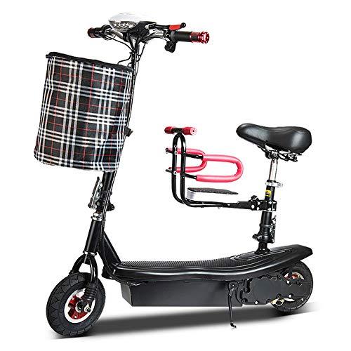 Elektro-Scooter, Höhe Folding Elektro-Scooter für Erwachsene, £ 160 Max Gewicht Kapazität Motorroller, bis zu 25 km/h, mit Baby-Berg